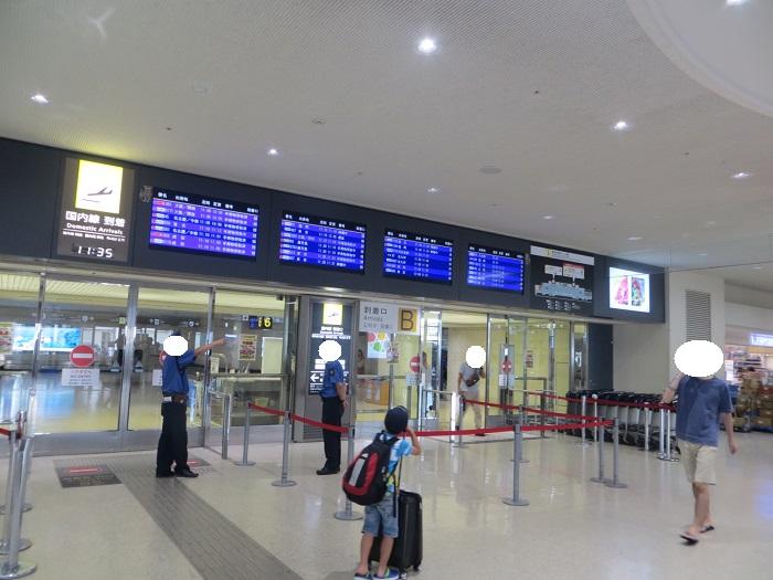 那覇空港1階到着ロビー