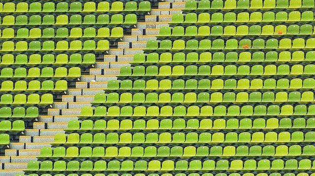 競技場の座席